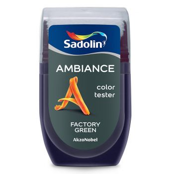 Ambiance tester Sadolin 30ml factory green