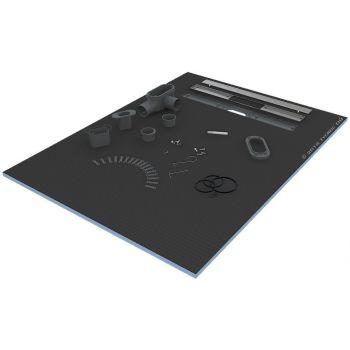 Dušialus renniga Tycroc STL90 900x900x30mm
