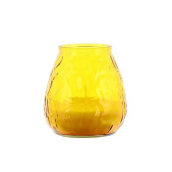 Küünal Venice 9,5x9,5cm suur kollane