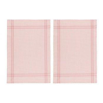 Köögirätikud 50x70cm roosa 2tk