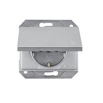 Pistikupesa XP metallik IP44 maandusega