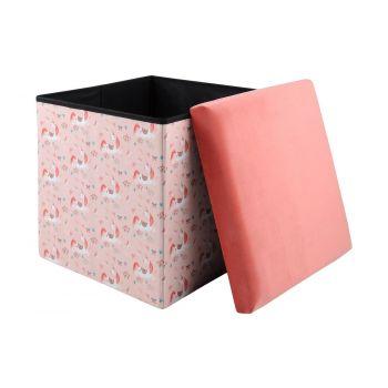 Tumba panipaigaga Annabelle 38x38x38cm roosa 3665269095807