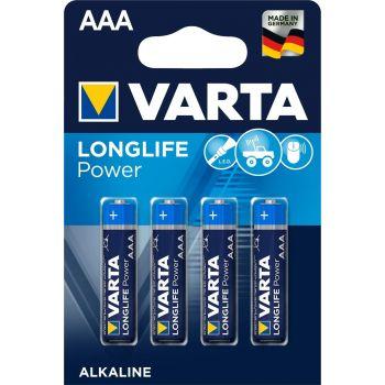 Patarei Varta LongLife Power AAA/LR03  4-pakk 4008496559749