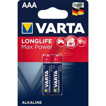 Patarei Varta LongLife Max Power AAA/LR03  2-pakk 4008496114733