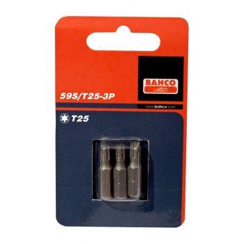 Otsik Bahco T10 25mm 3tk 7314150201457