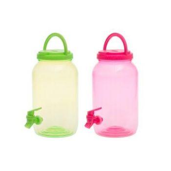 Plastikust jooginõu kraaniga 3,5L värvivalik