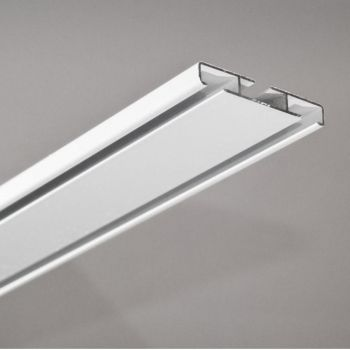 Kardinasiini kmpl Universal 250cm alumiinium valge 4779025350792 Dekorika