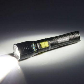 Professionaalne laetav taskulamp Tiross TS-1158