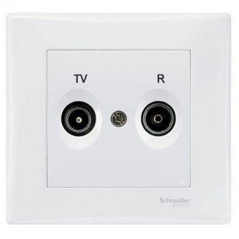 Sedna antennipesa TV/R lõpp valge