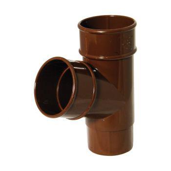 Vihmaveetoru harutoru ümar 68mm pruun