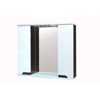 4743277017642 Peegelkapp Premium Lux 80 cm, wenge