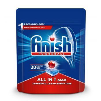 Nõudepesutabletid FINISH All-in-1 Max 20 tab 5900627090215