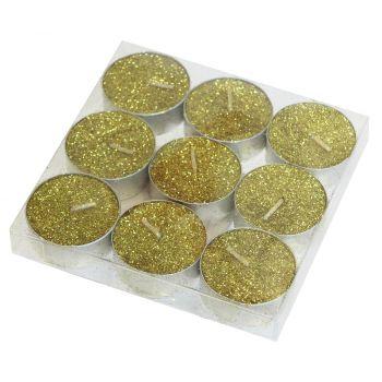 Teeküünal 9tk kuldne 8591177081807