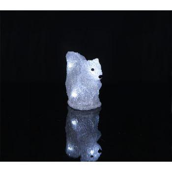 Dekoratsioon Orav 15X13cm, 5 LED, patareitoide, IP20 7391482017451