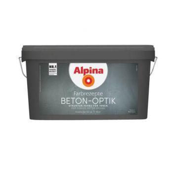 Dekoratiivvärv Alpina Farbrezepte BETON-OPTIK Helehall 4001244794515