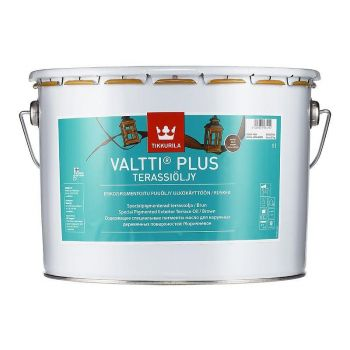 Veepõhine terrassiõli Tikkurila Valtti Plus, pruun, 9L