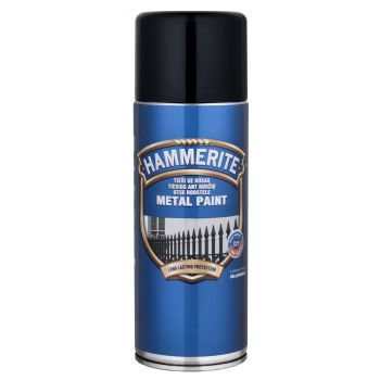 Metallivärv Hammerite Smooth, läikivsile pind, 400ml, aerosool, valge