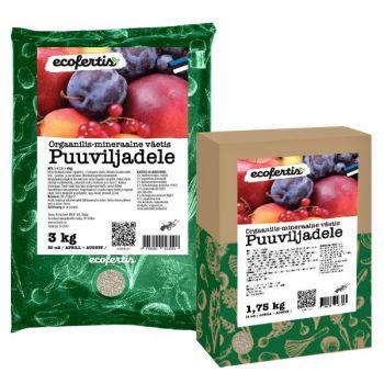 Väetis Ecofertis puuviljadele 3kg 4745090023091