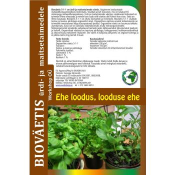 Bioväetis ürdi ja maitsetaimedele 1L
