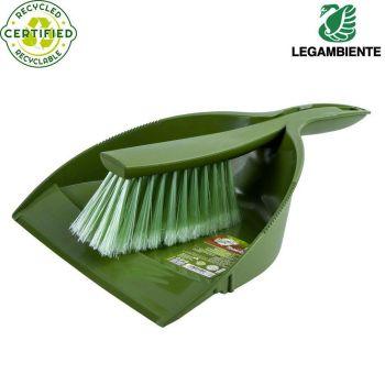 Käsihari+kühvel ökoloogiline roheline 8008990006776