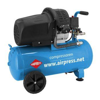 Kompressor Airpress 50L 2-silindrit HL425-50+tarvikud 8712418382297