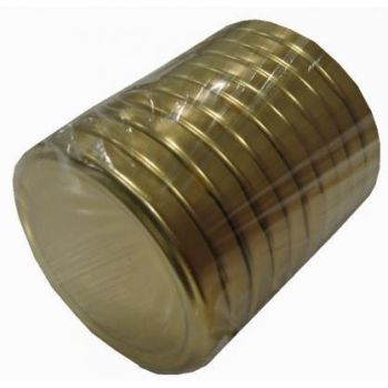 Purgikaaned 82mm 10tk kuldsed 4771323251320