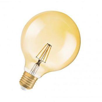 LED lamp 4W 824 E27 Vintage 1906 G120 kuld