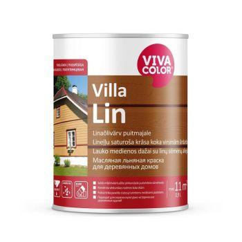 Linaõlivärv puitfassaadile Vivacolor Villa Lin A 0,9L