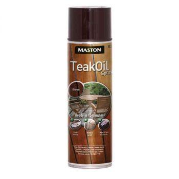 Maston Teak Oil spray 500ml pruun 6412490005658