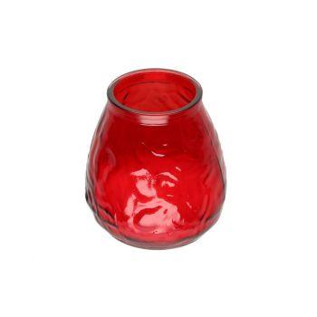 Küünal Venice 9,5x9,5cm suur punane
