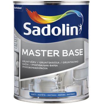 Kruntvärv Sadolin Master Base 2,5L, täismatt, valge (BW)