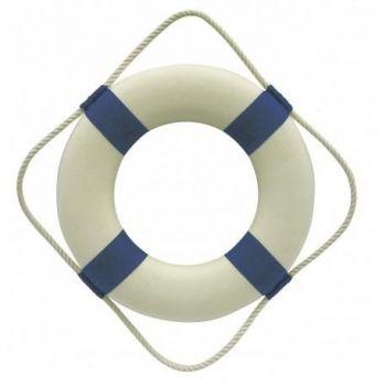 Päästerõngas valge/sinine 30cm