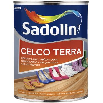 Põrandalakk Sadolin Celco Terra 45 2,5L, poolläikiv