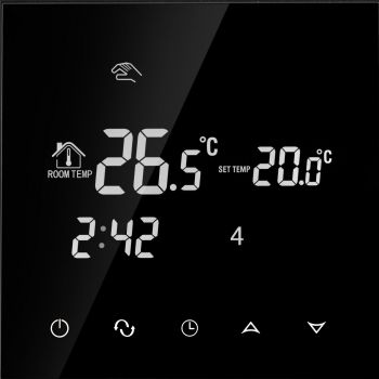 Põrandakütte termostaat Tenux 16A must 47481619
