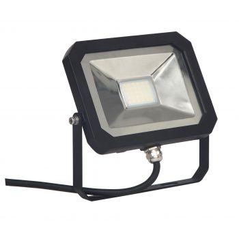 Prozektor LED 10W õhuke must