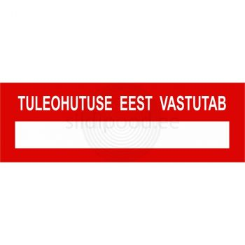Kleebis Tuleoh. vastutab 21x7