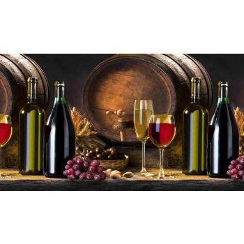 Köögitagaseina dekoratiivplaat 386 veinivaat 4680438705386