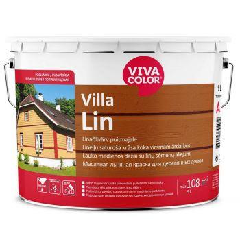 Linaõlivärv puitfassaadile Vivacolor Villa Lin A 2,7L
