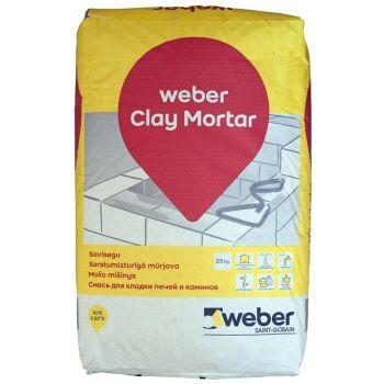 Müürisegu Weber Clay Mortar 25 kg