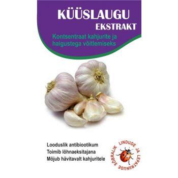 Küüslaugu ekstrakt 250ml