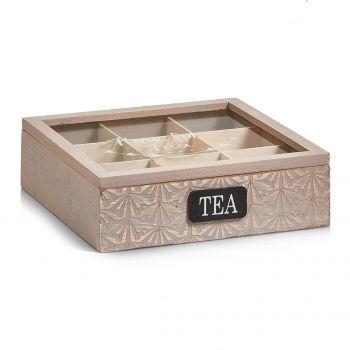 Teekarp Tea 9-vahega 24x24x7cm 4003368151151