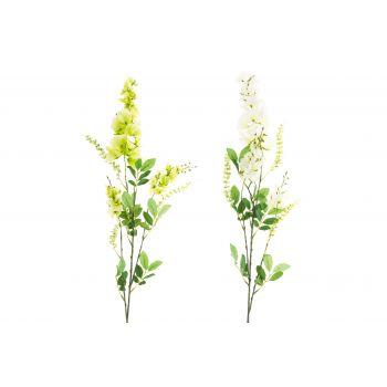 Kunstlill Wisteria 74cm valge või roheline