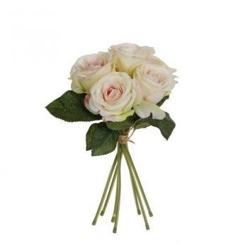 Kunstlill roosikimp 28cm heleroosa