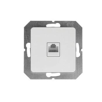 Arvutipesa 1-ne süvis valge raamita 4779101630534