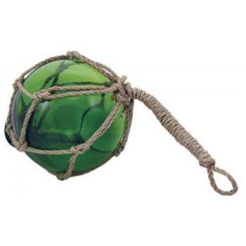 Dekoratiivne klaaspall roheline D10cm