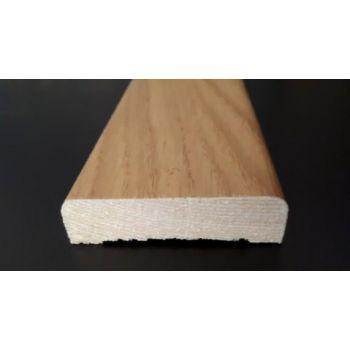 Uksepiirdeliist spoonitud tamm lakitud 15x58 mm 2.2m