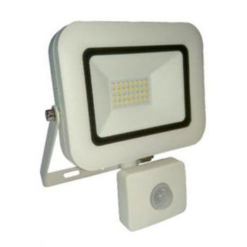 LED Prožektor+infra 30W IP65 valge