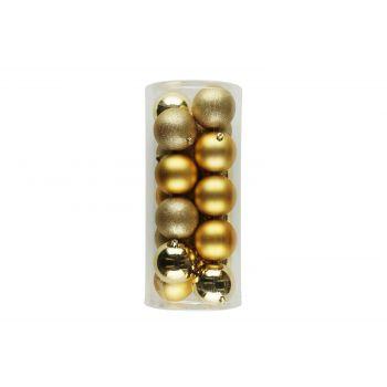 Kuuseehted 18tk 8cm kuldsed 6410413183940