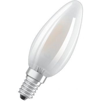LED lamp 4W 827 E14 470lm Küünal Matt 4052899959187