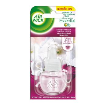 AIR WICK Electrical Smooth Satin & Moon Lilly täide 19 ML 5900627047356
